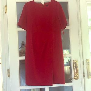 Maggy London dress in ruby red Size 14